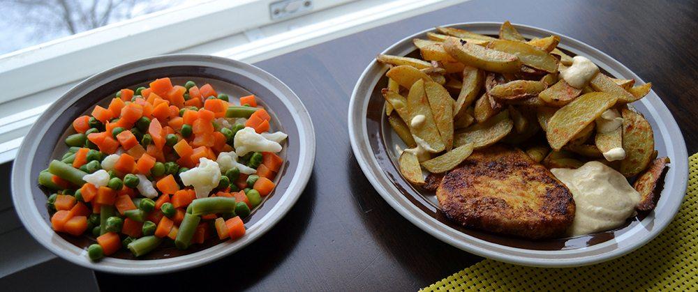 Kaksi lautasta