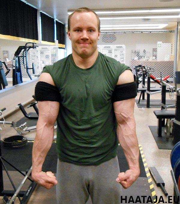 Blood Flow Restriction Training kädet