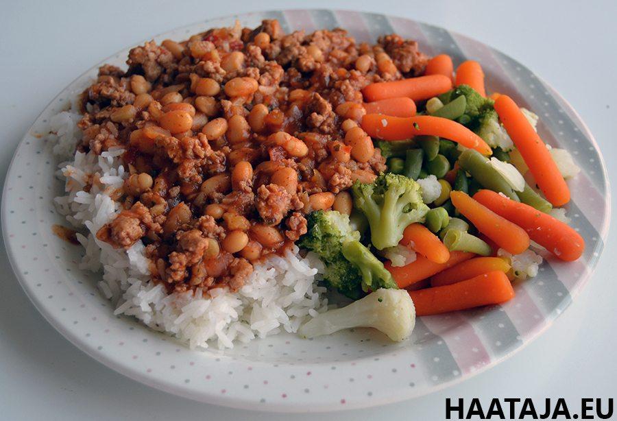 Joustavan dieettauksen ansiosta voin syödä mm. Chili Con Carnea, joka on todella maukasta ruokaa.