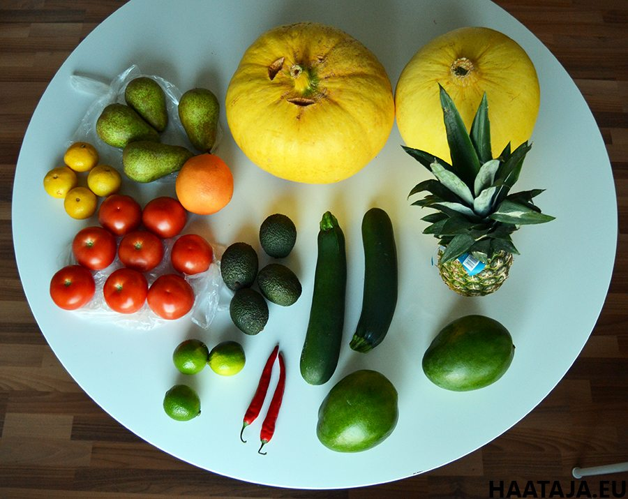 Monipuolinen kasvisten syöminen on terveydelle edullista