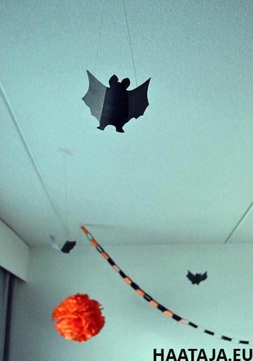 Halloween-koristeluja