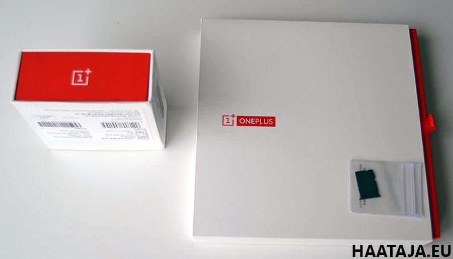 OnePlusOne paketti avattuna