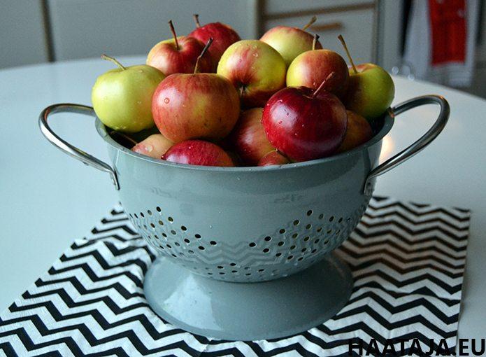 Astiallinen omenoita päivässä on huono idea?