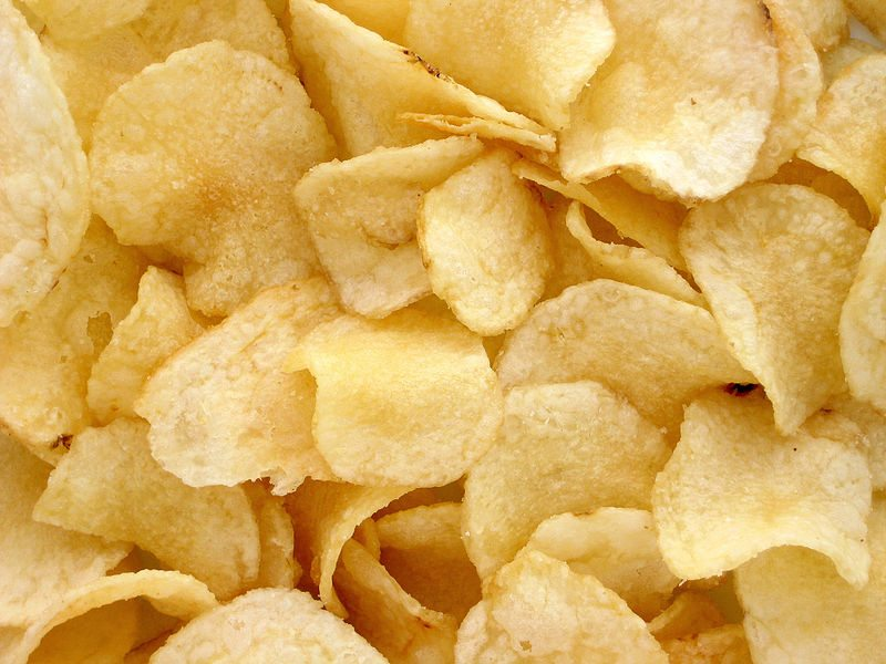 Ruokakorivertailu perunalastut