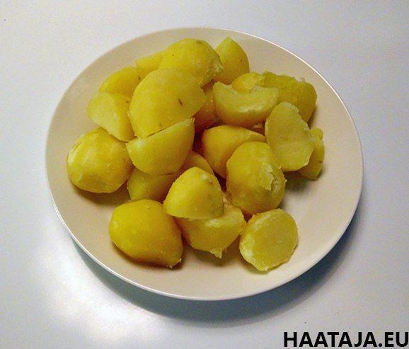 Keitettyjä perunoita