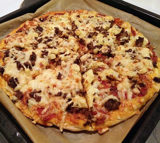 Mesosyklin aikana tuli syötyä muun muassa pizzaa