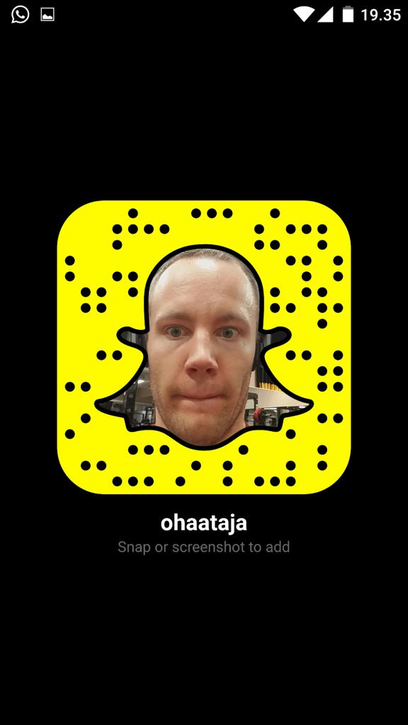 Snapchatissa
