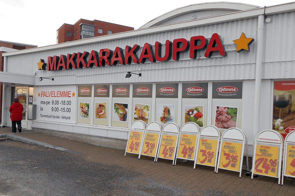 Makkarakauppa Oulu