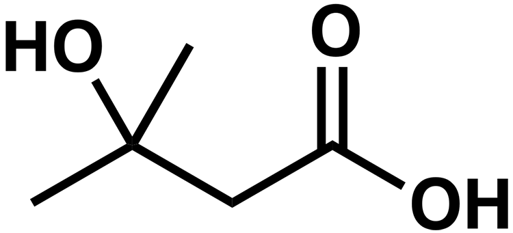 HMB:n kemiallinen kaava