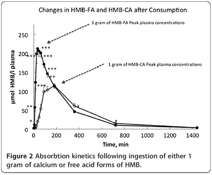HMB:n käyttö HMB-FA ja HMB-Ca